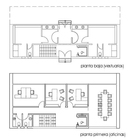Proyecto oficinas en fuenlabrada 586 perell arquitectos for Oficina empleo illescas