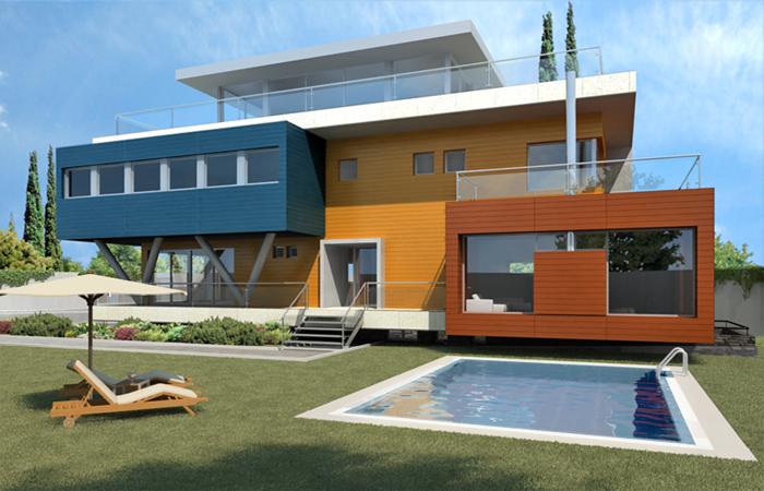 Proyecto viviendas unifamiliares las rozas 603 perell arquitectos madrid - Proyectos casas unifamiliares ...